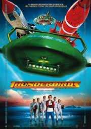 Thunderbirds al rescate (del guión a poder ser)